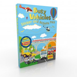 STICKER & ACTIVITY PACK VEHICLES